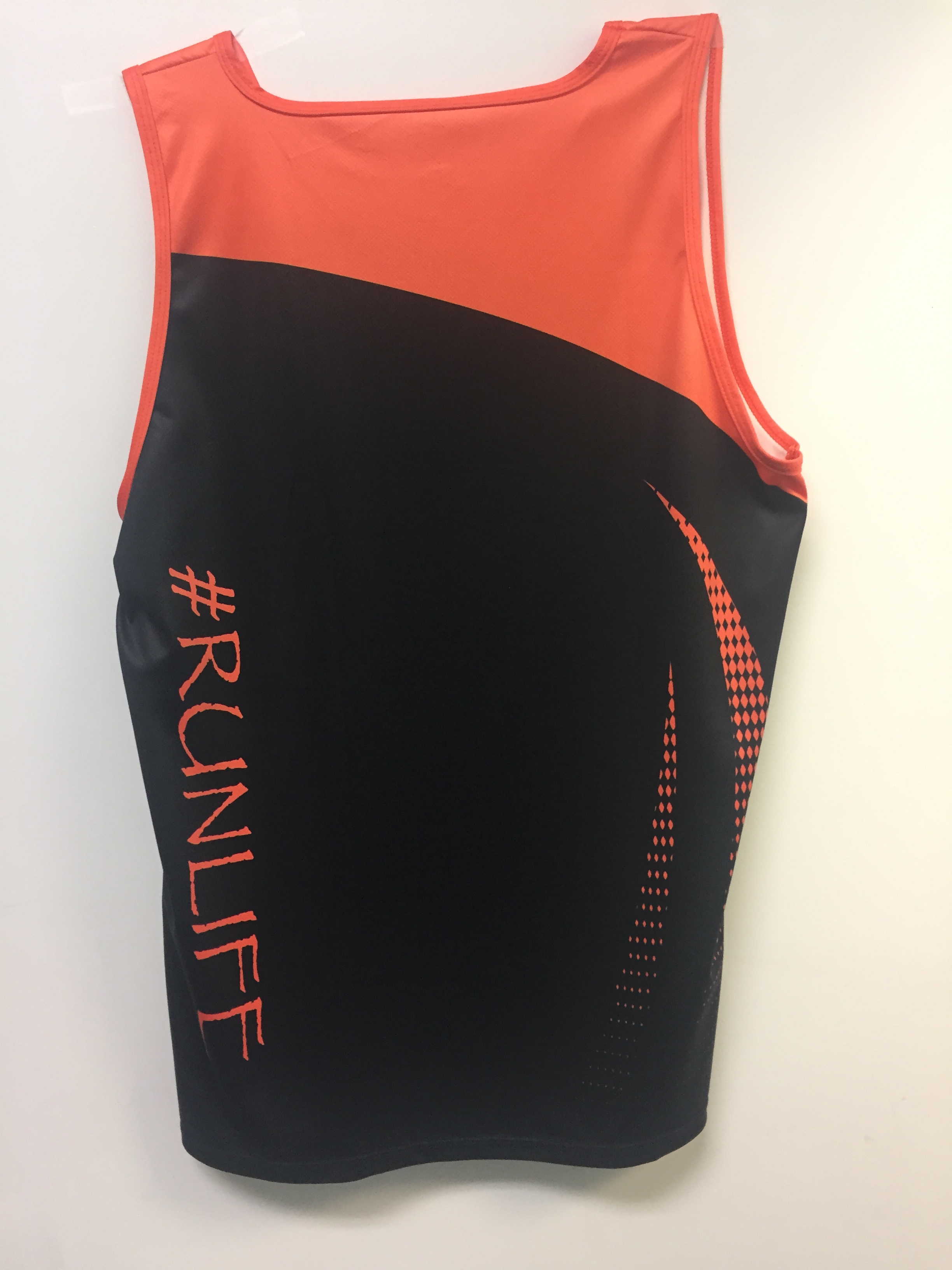 Runner's Depot #Runlife Singlet Men's