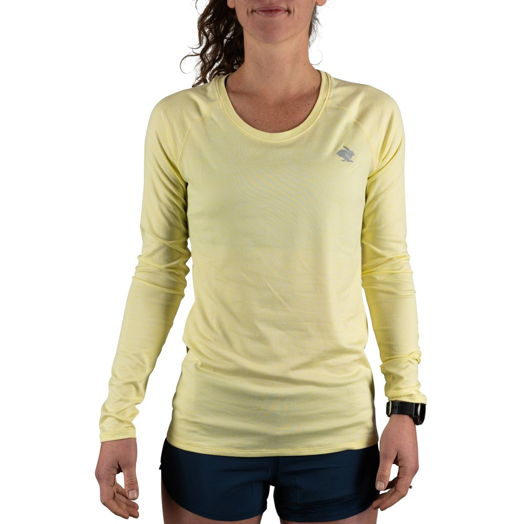 Rabbit EZ tee LS - women's