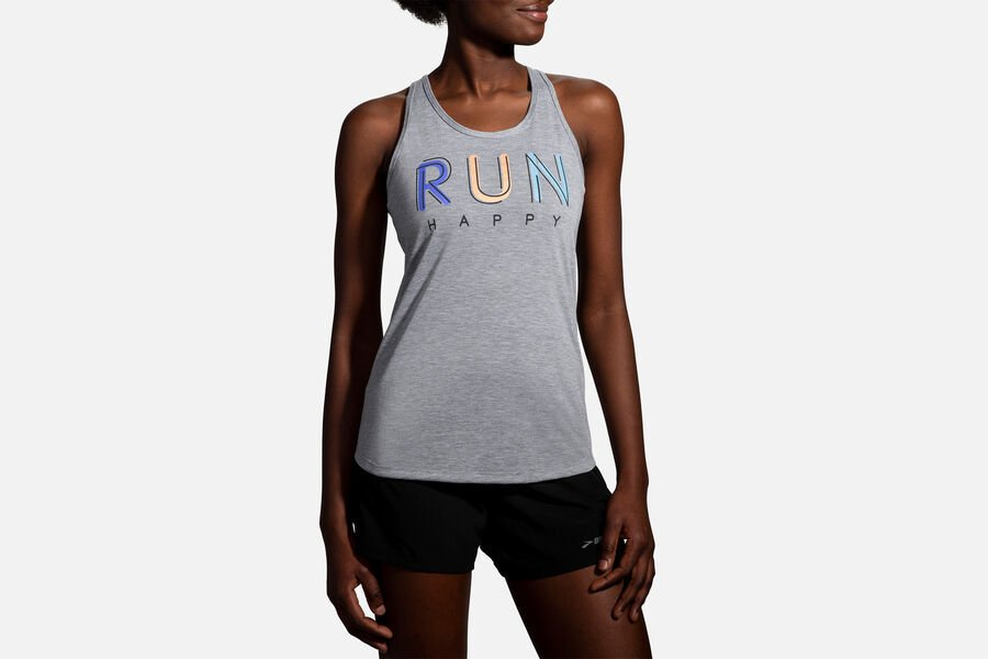 Brooks Distance Graphic Tank - Women's