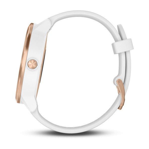 Garmin vívoactive® 3 White with Rose Gold Hardware