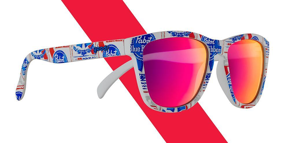 Goodr Pabst Blue Ribbon Sunglasses