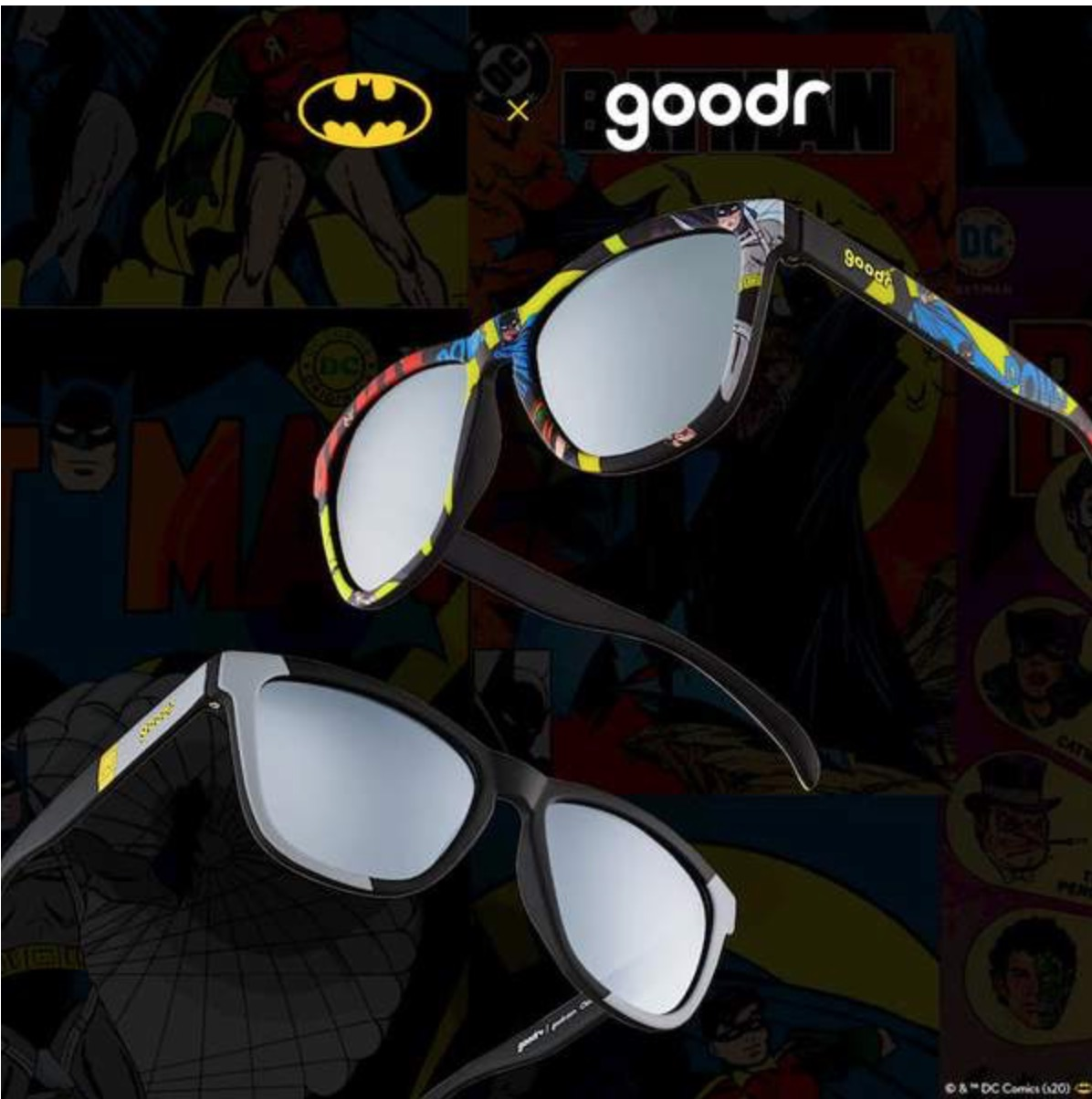 Goodr Batman Caped Crusader Sun Shaders