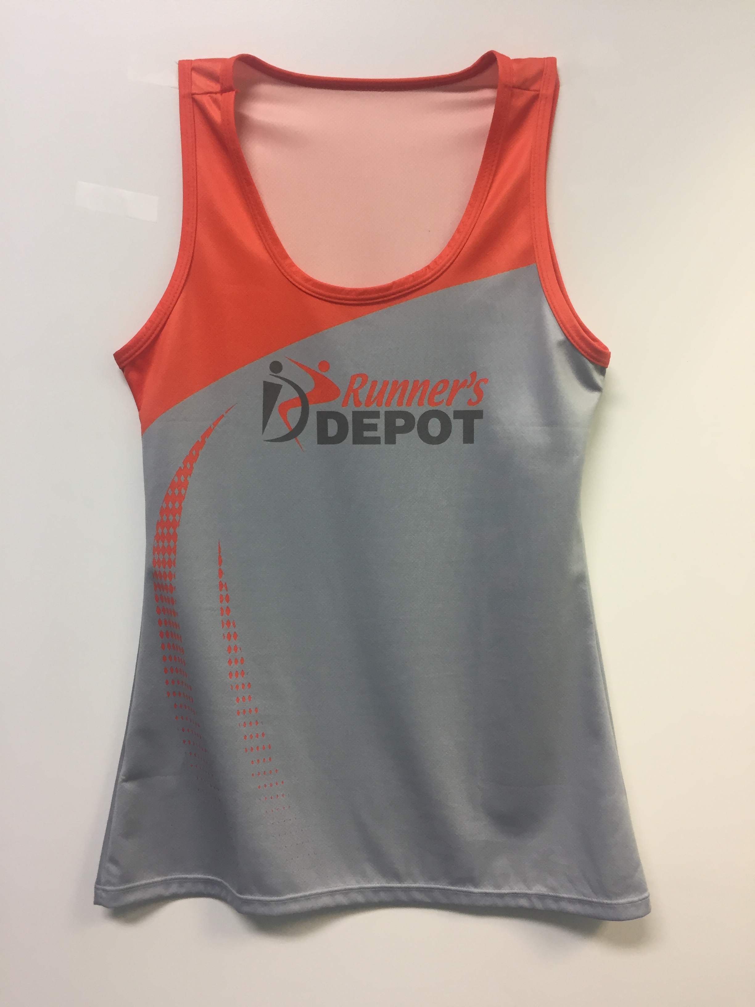 Runner's Depot #RunLife Singlet Womens