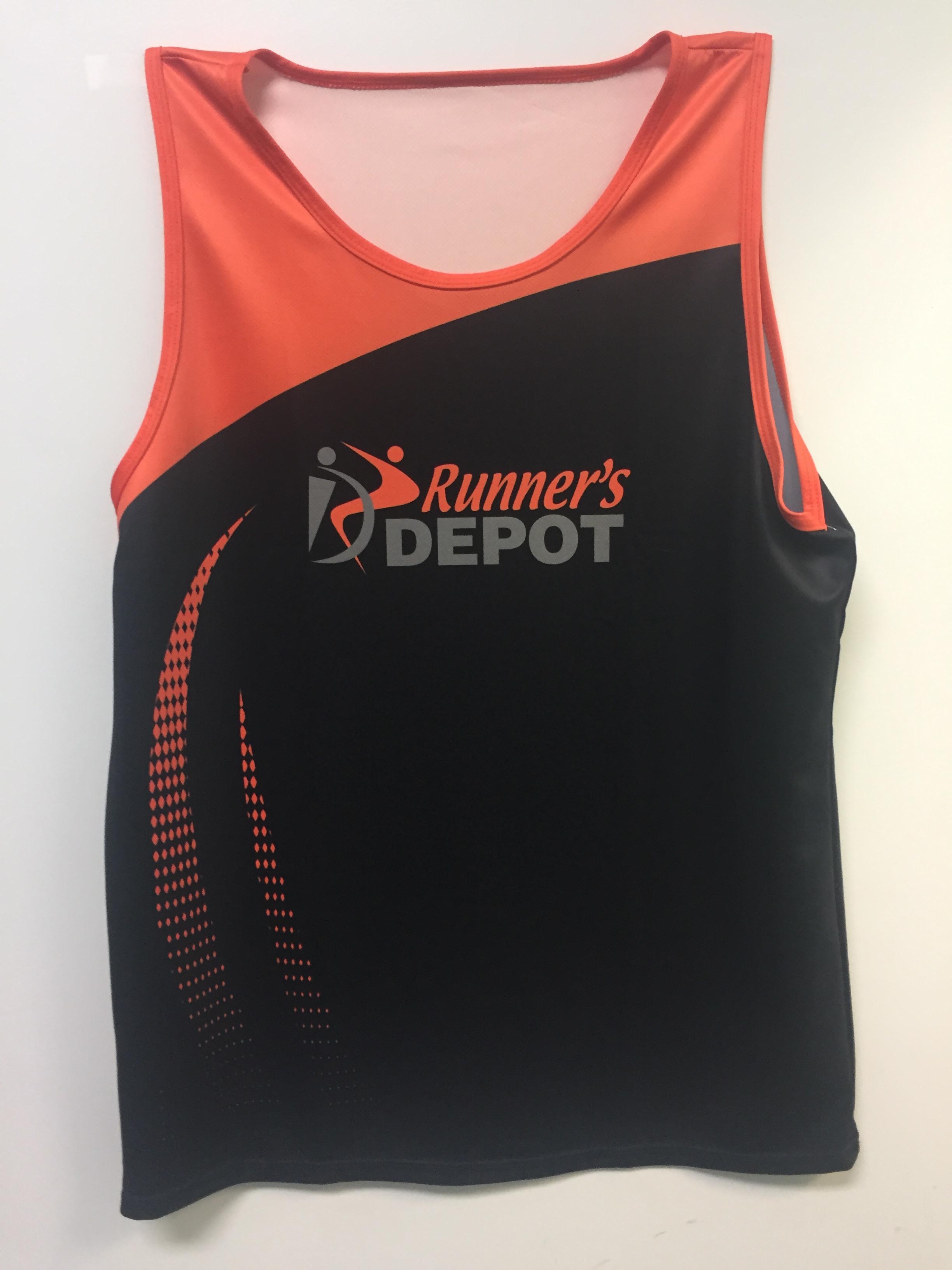 Runner's Depot #Runlife Singlet Men's